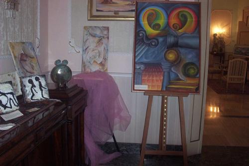 Pittura salone degli artisti for Pittura salone