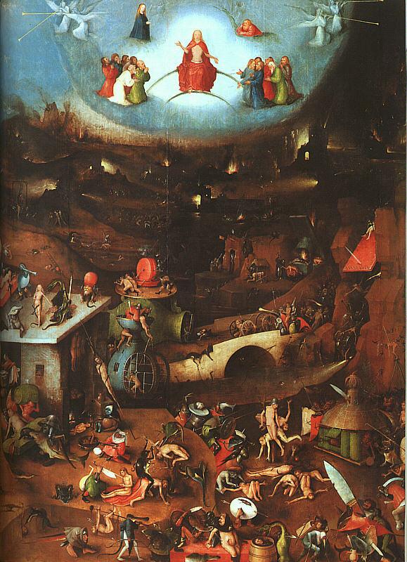 Del trittico olio su pannello akademie der bildenden k nste vienna