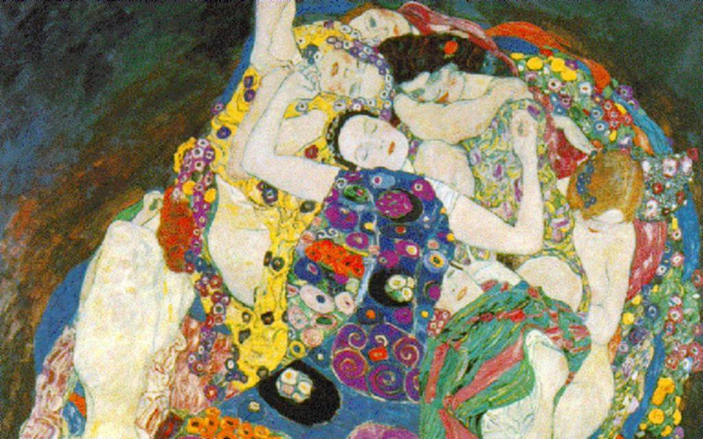 Painting of Woman Gustav Klimt