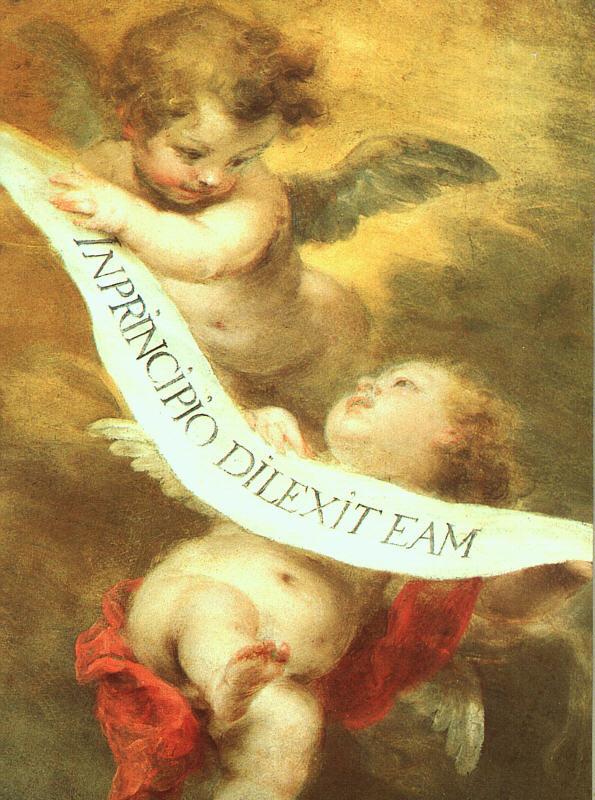 Quadri di murillo bartolome esteban for Quadri con angeli