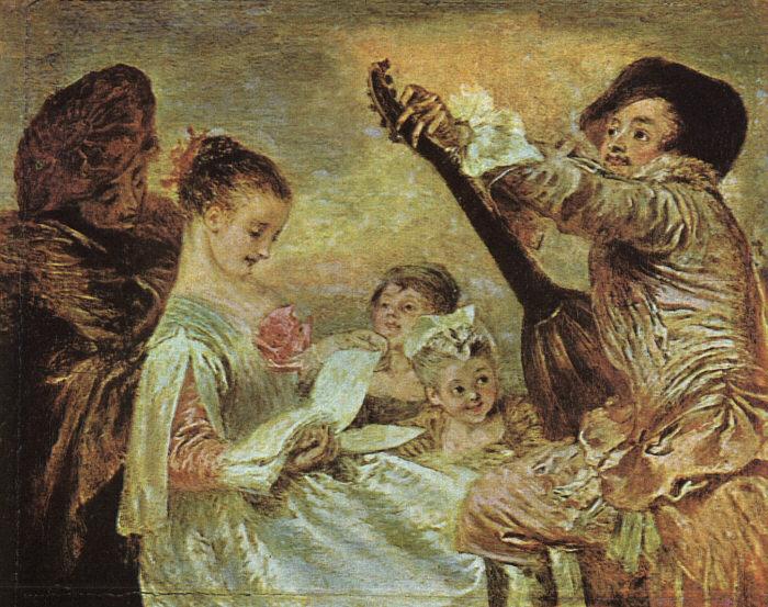La lezione di musica 1717 collezione wallace, londr